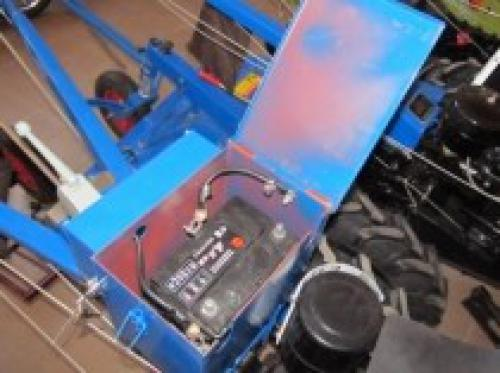 електроповодка мотоблока зубр